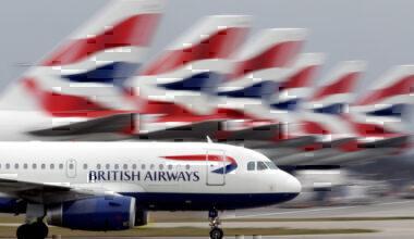 British Airways take-off