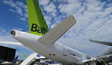 airBaltic tail