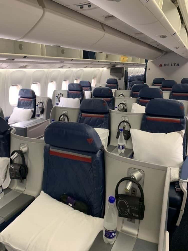 Delta one 767 business class