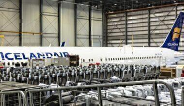 Icelandair passenger to cargo