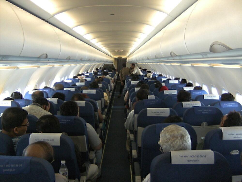 IndiGo A320 Cabin