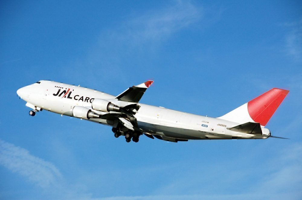 JAL Cargo 747