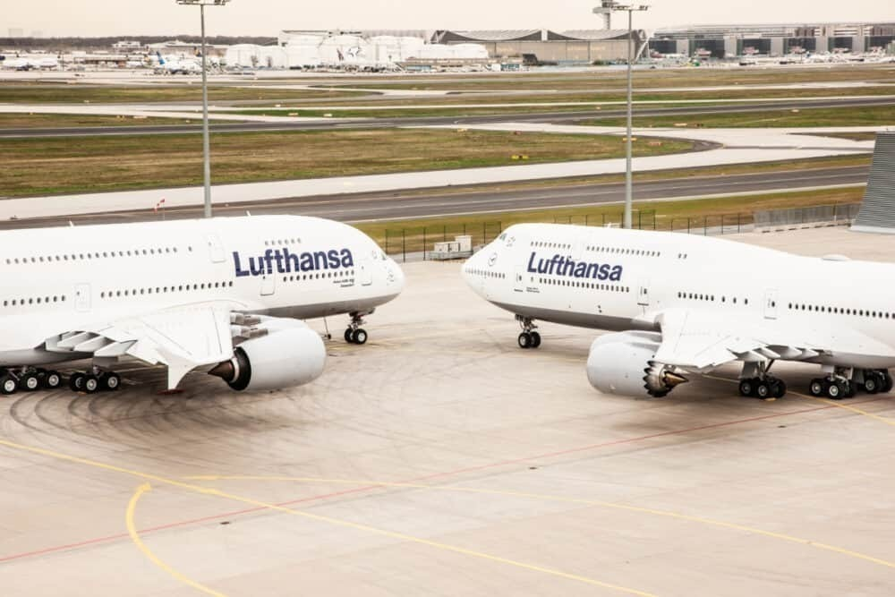 Lufthansa, Boeing, Airbus