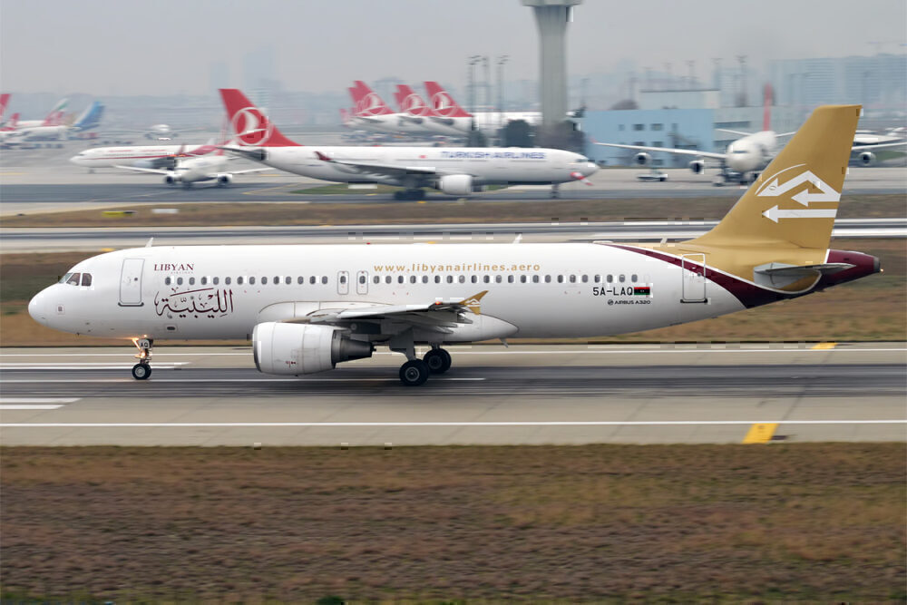 Libyan Airlines 5A-LAQ