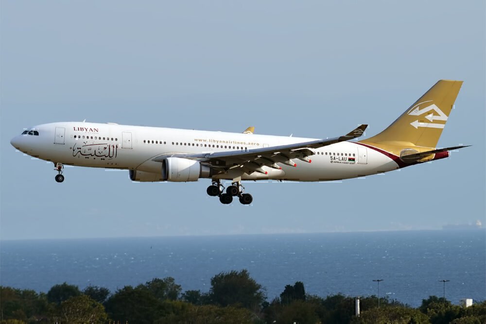 Libyan Airlines A330