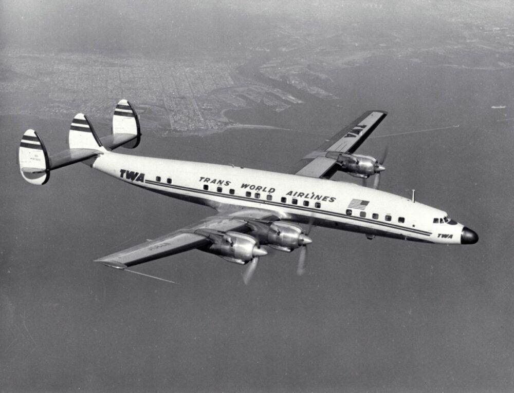 TWA Lockheed Starliner