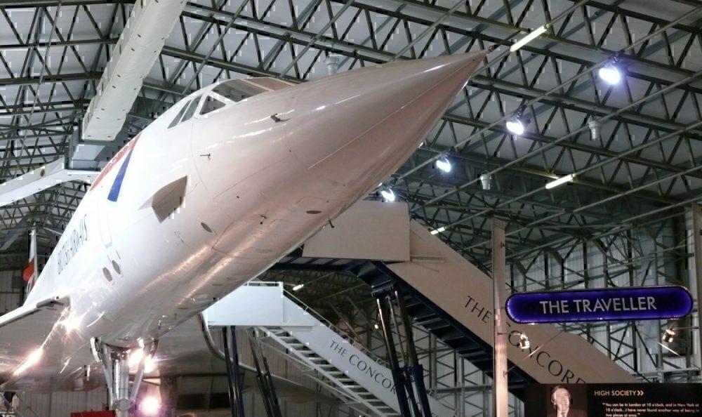 Concorde Edinburgh museum