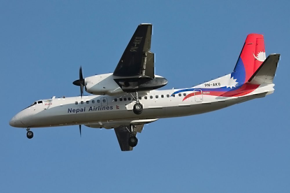 Nepal Airlines Xian MA-60
