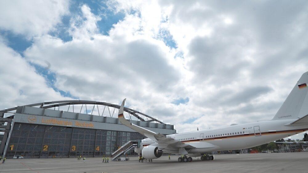 German Air Force, Airbus A350, Merkel One