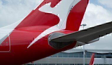 Qantas A330 livery
