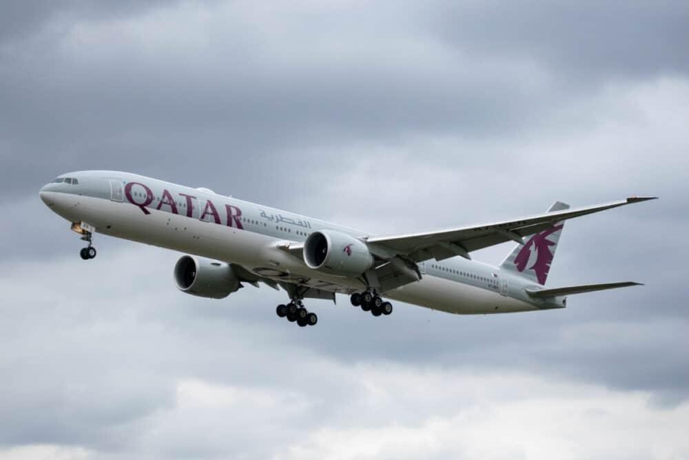 Qatar Airways Flying