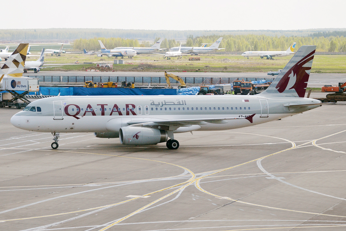 Qatar Airways A320 in Dubrovnik Croatia
