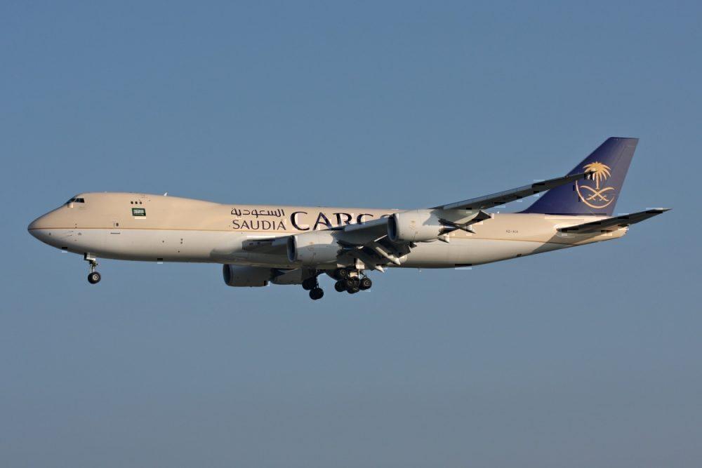 Saudi Cargo 747