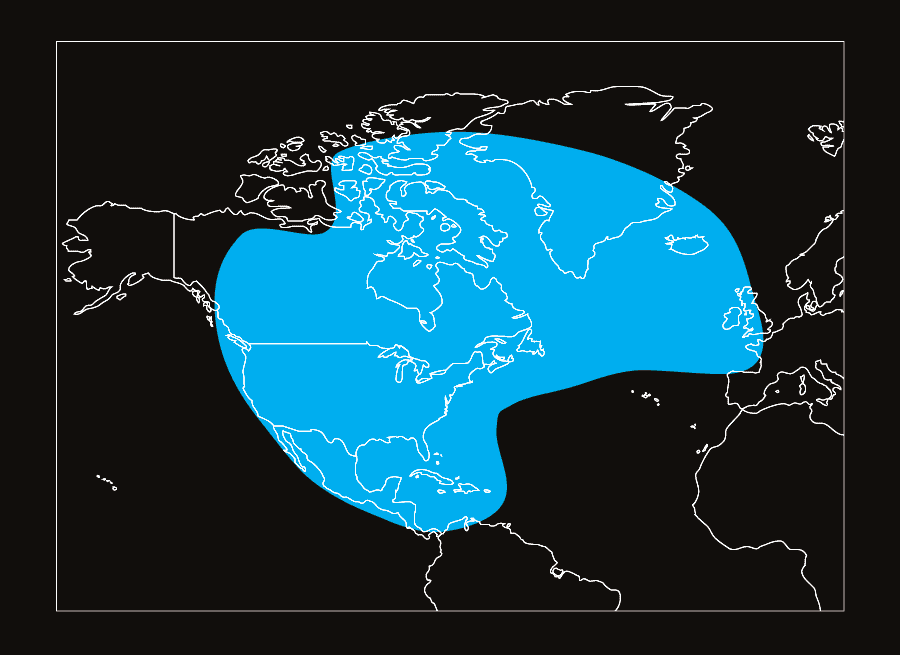 ViaSat-2 coverage