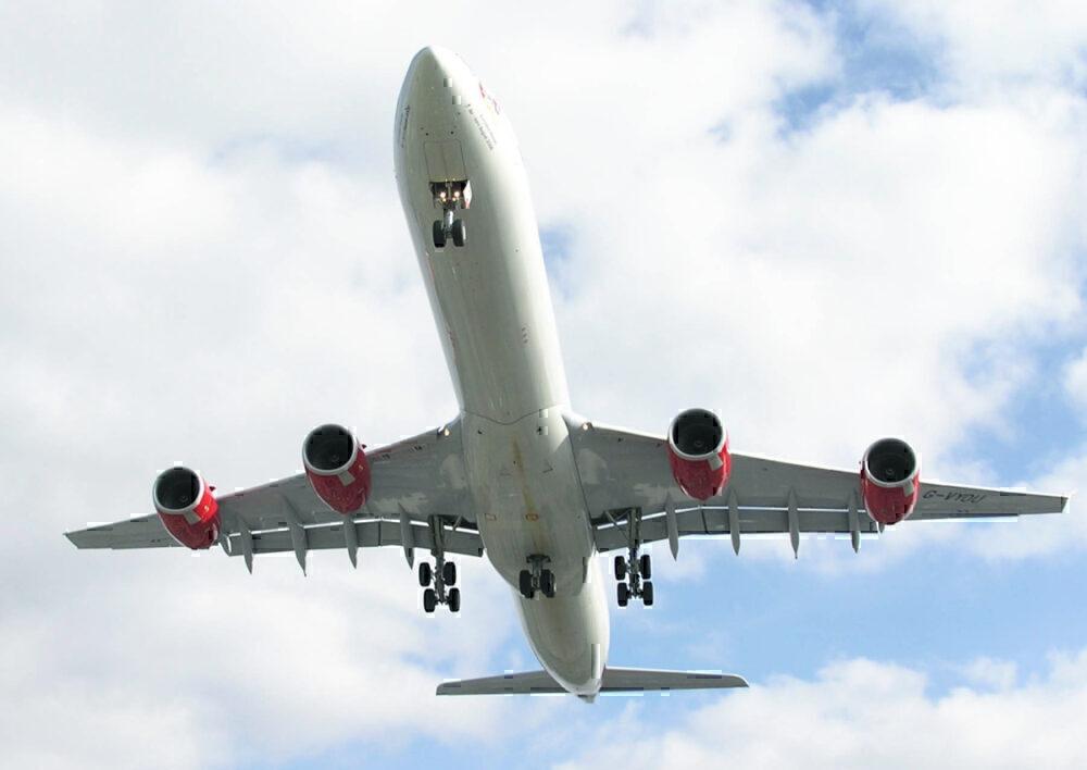 A340 middle landing gear