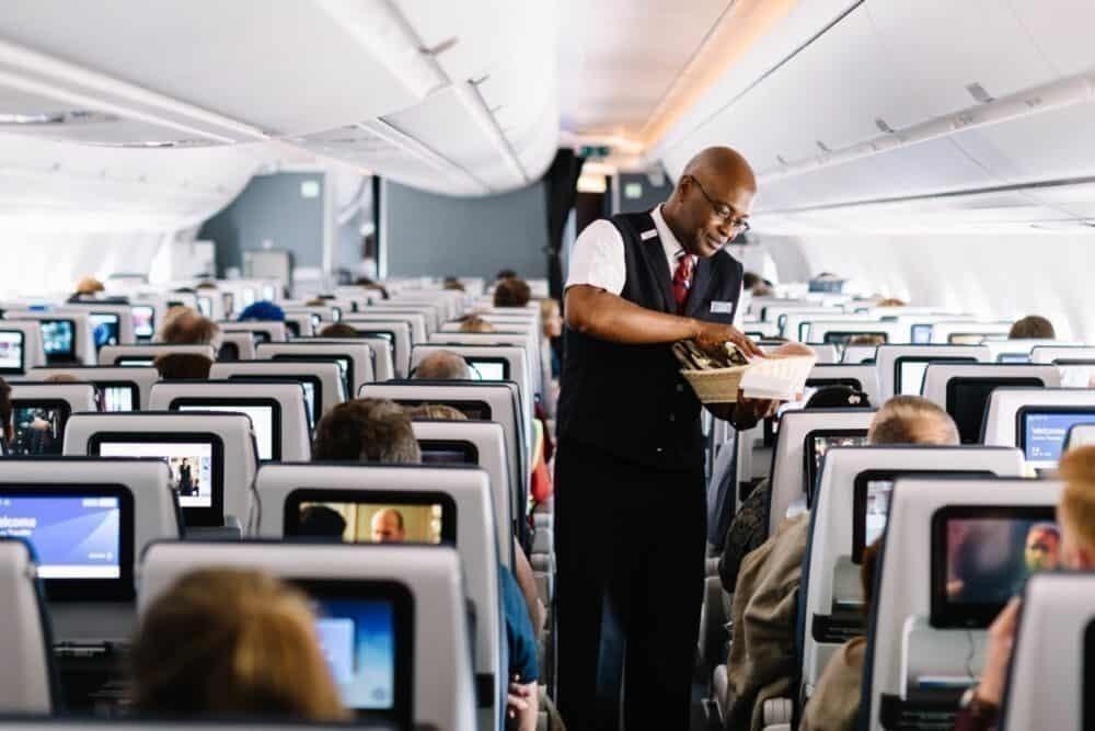 British Airways cabin service