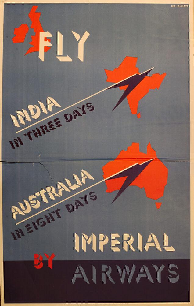 BA historic poster