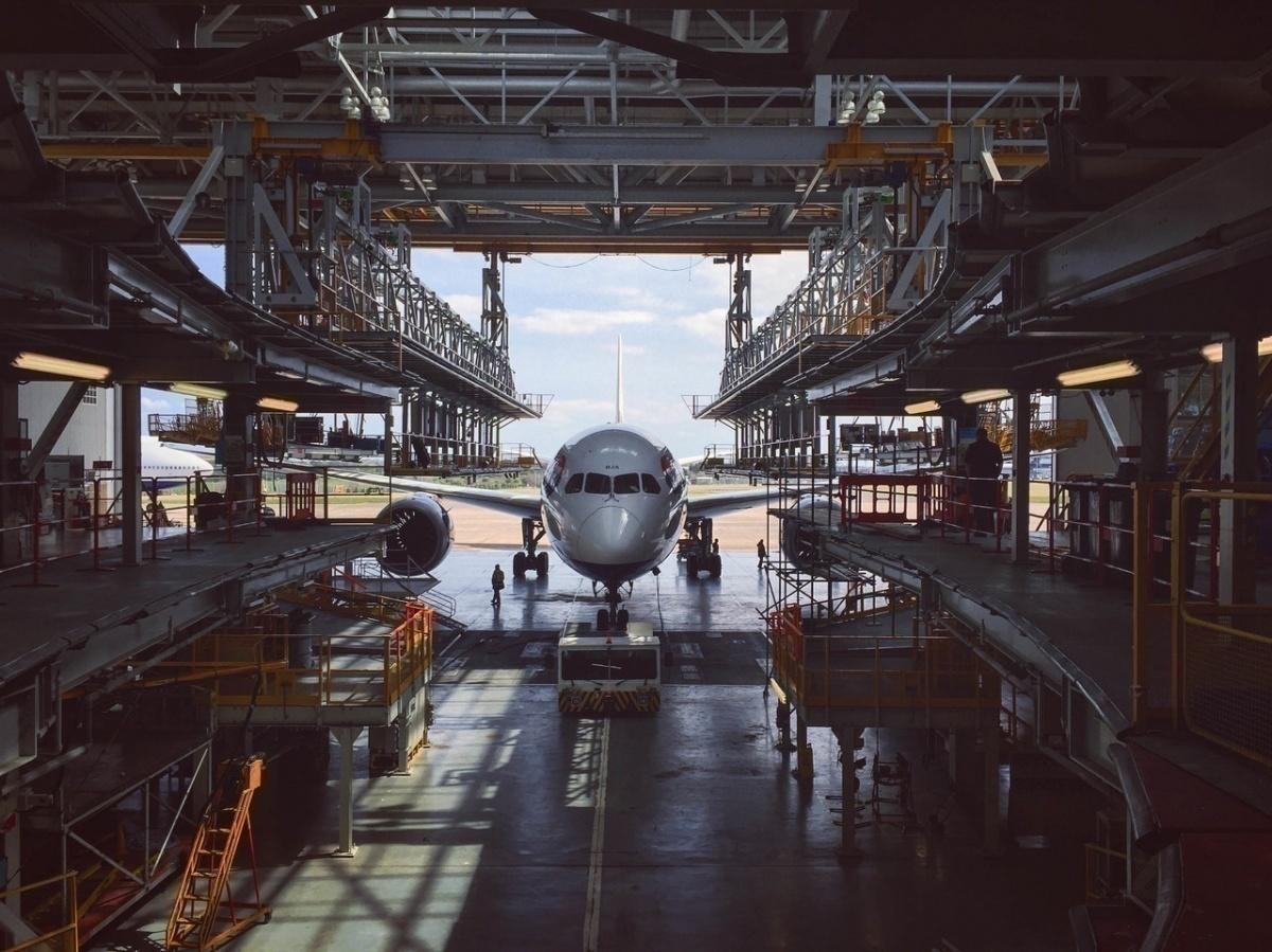 Fire Suppression System Malfunctions In British Airways 777 Hangar