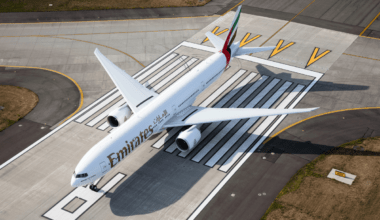 Emirates limited flights in May
