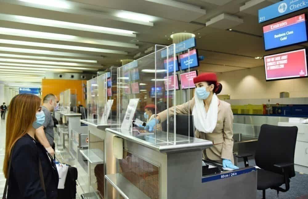 Emirates Check-in Desk Barrier