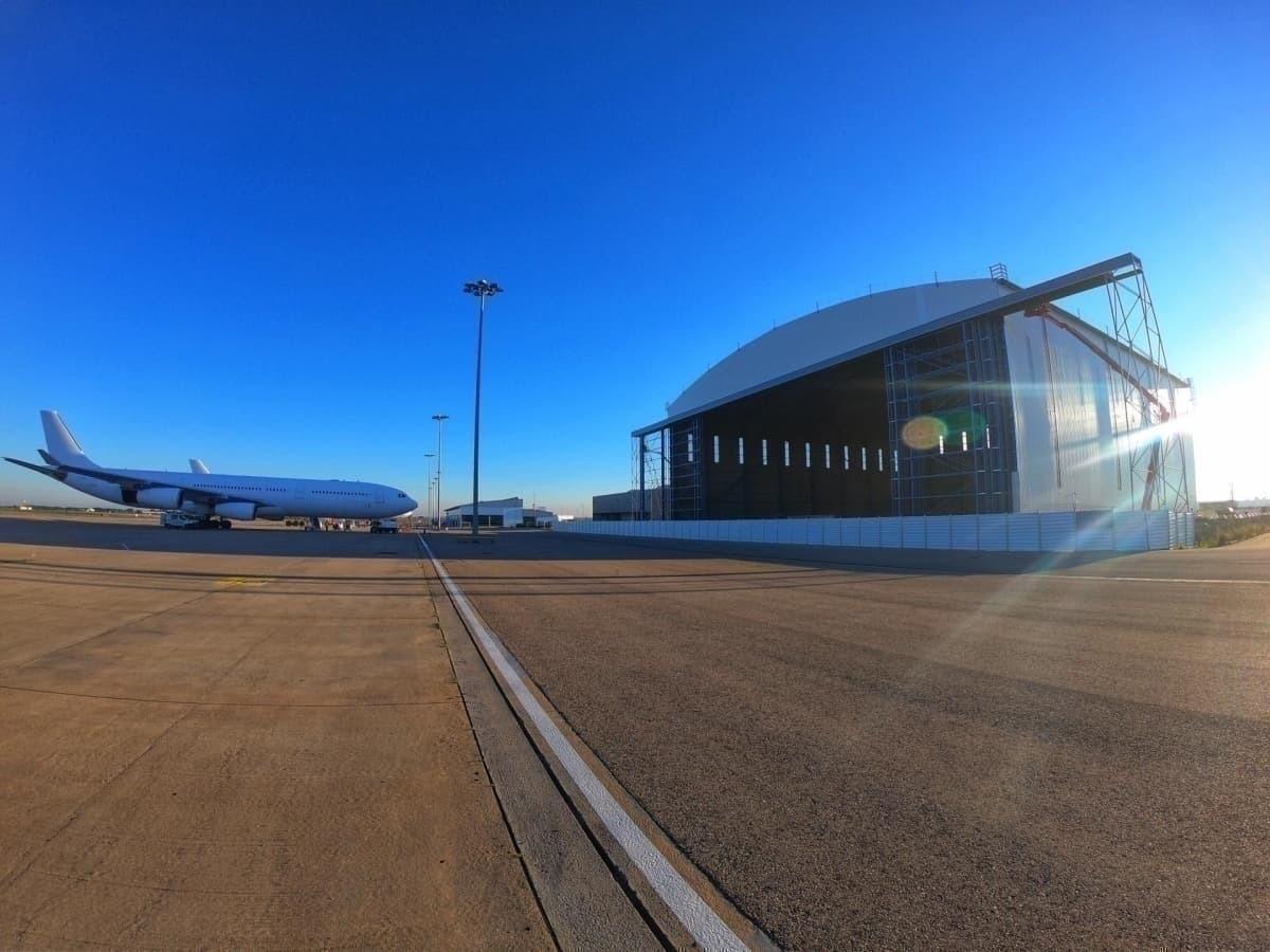 Hi Fly Beja MRO hangar