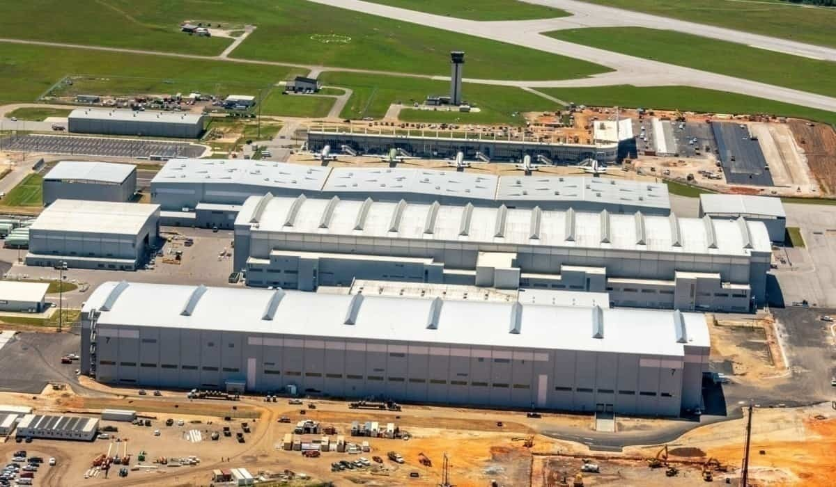 Airbus Opens Its United States A220 Production Facility