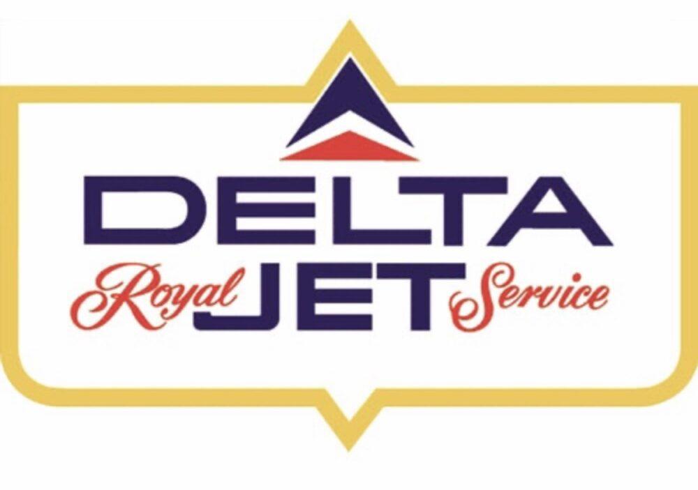 Delta Jet Service Logo