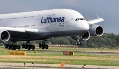 Lufthansa, Airbus A380, Grounded
