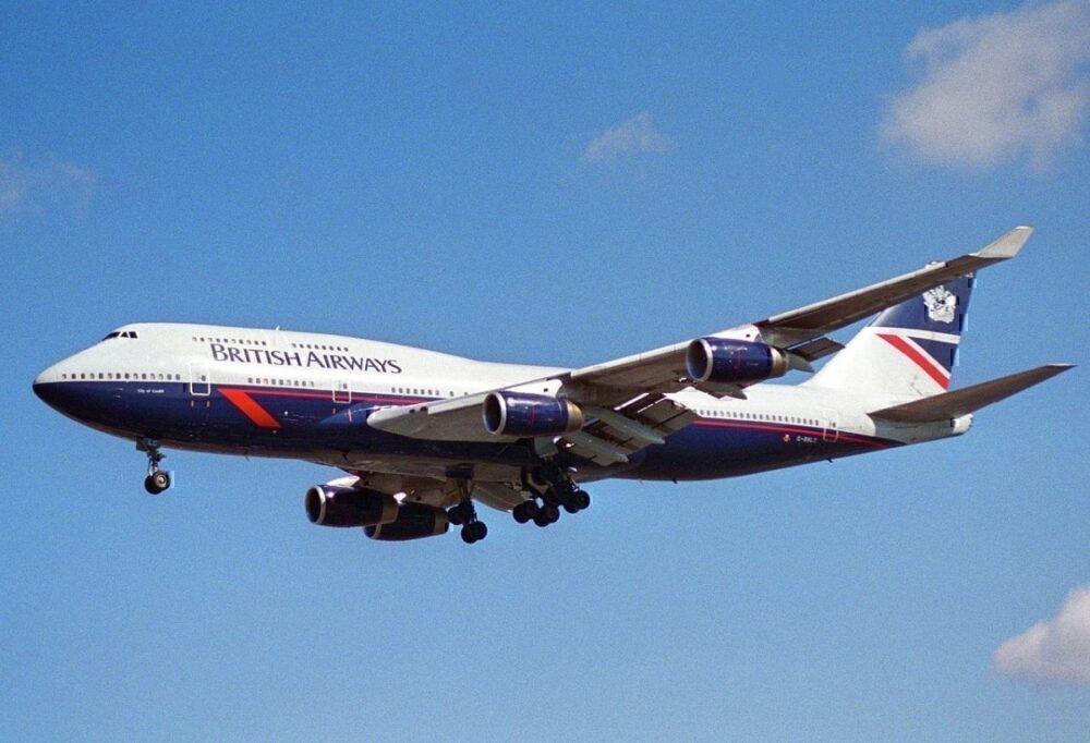 747 British Airways Landor