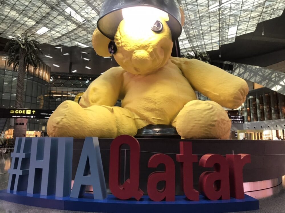 Hamad International Bear