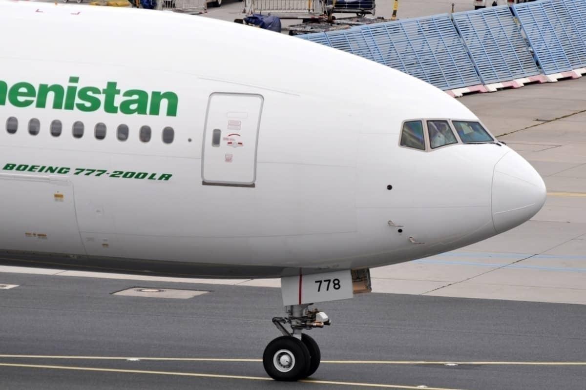 Turkmenistan Airlines 777-200