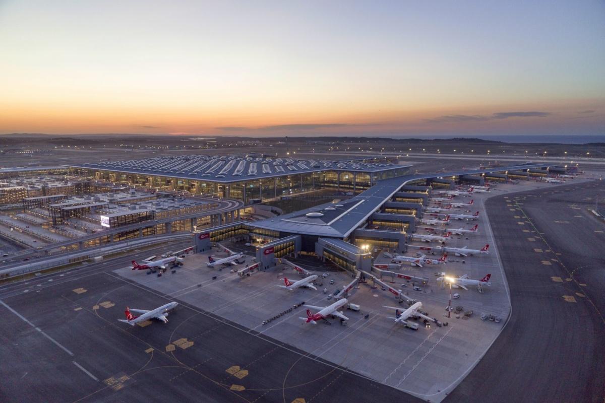 Istanbul Airport Exterior New Runway