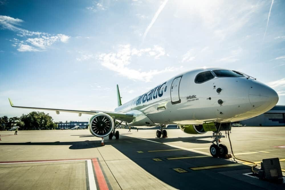 airBaltic, London, Flight Resumption