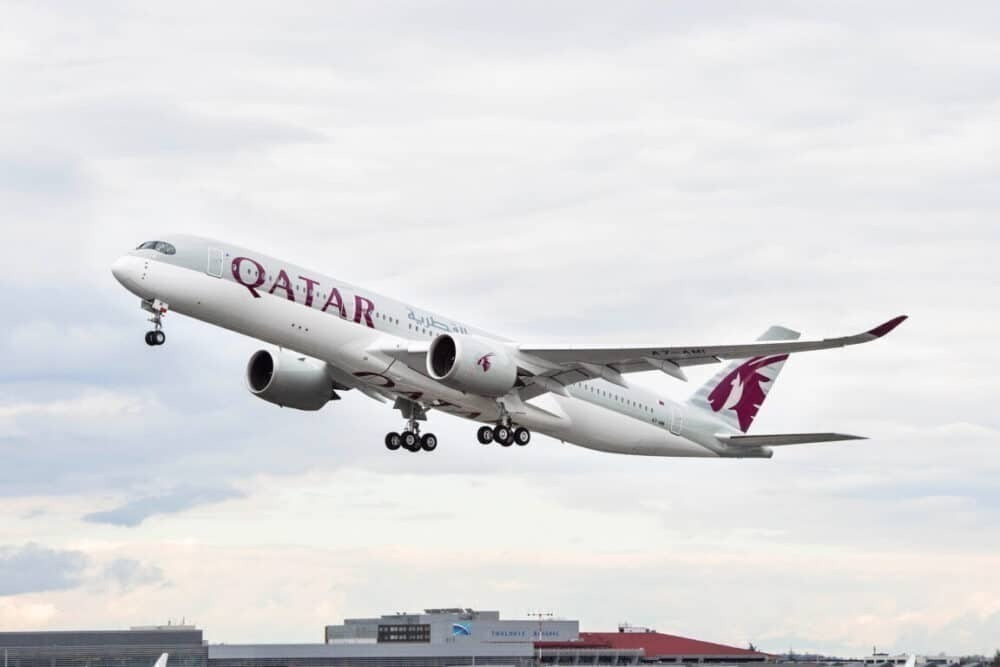Qatar Airways, Airbus A350, Toronto