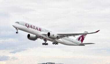 Qatar Airways, Airbus A350, Toronto