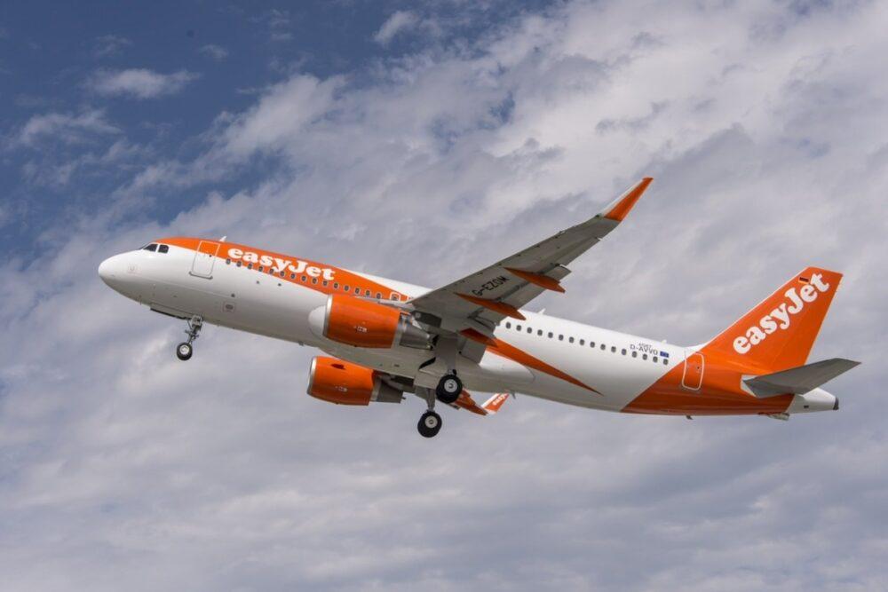 easyJet Airbus