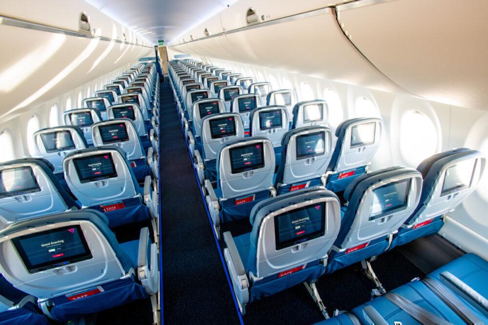 90% Of Delta's Fleet Has Seatback Screens For All Passengers
