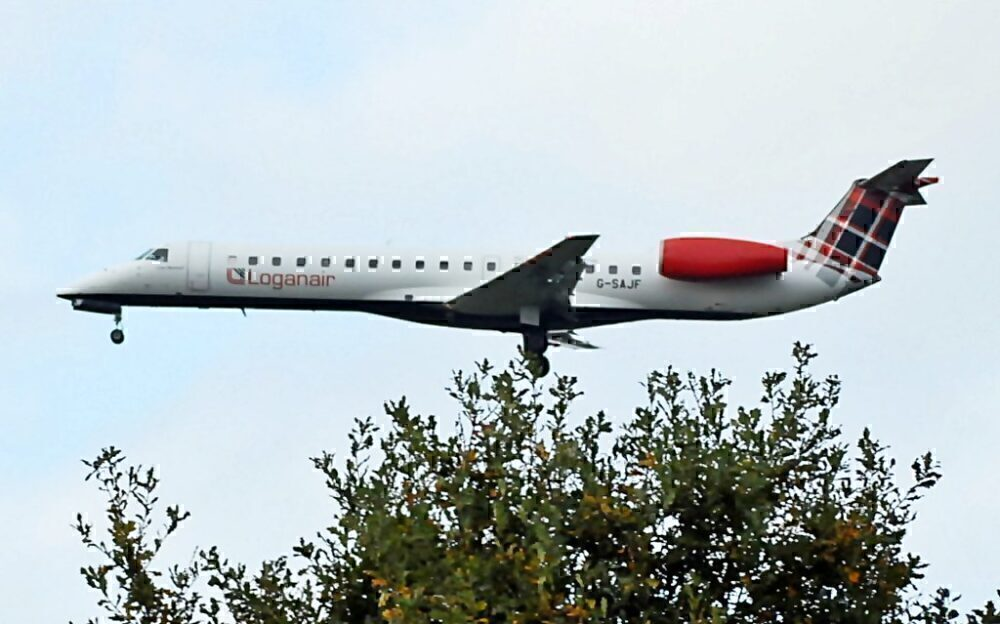 Loganair Embraer