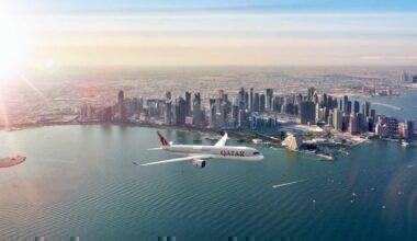 Qatar Airways Aicraft
