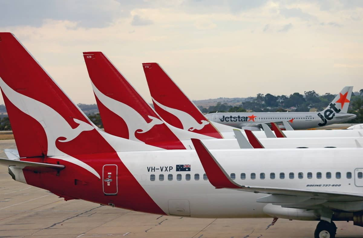 Qantas and Jetstar