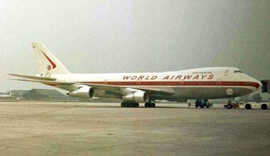 World Airways 747-200C