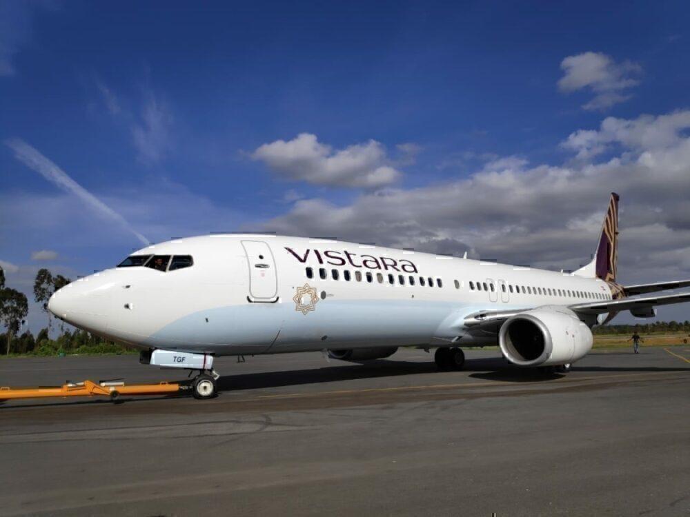 Vistara Boeing 737-800NG