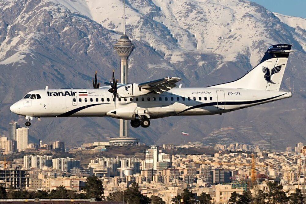 Iran Air Airspace