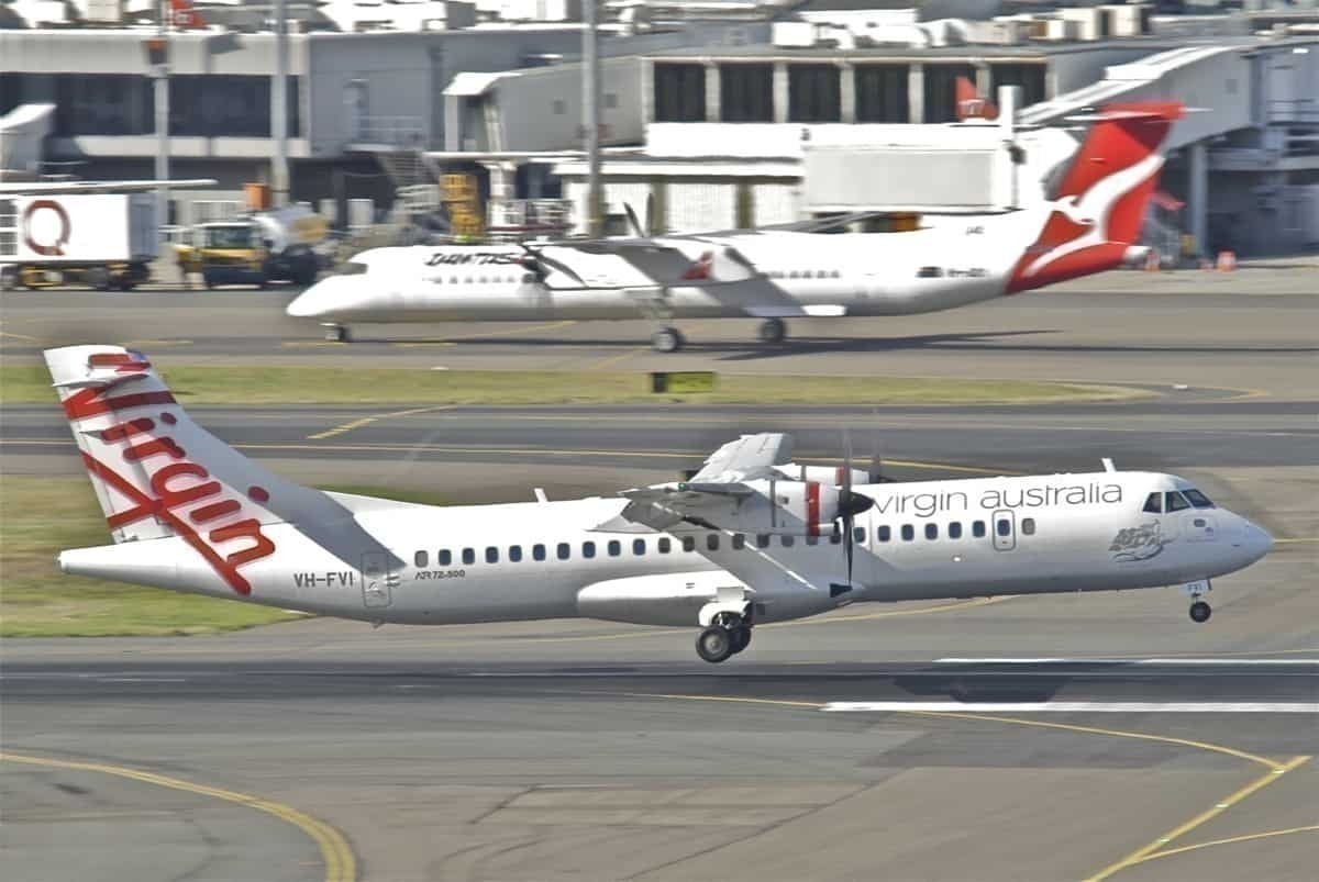 Virgin Australia ATR 72-500