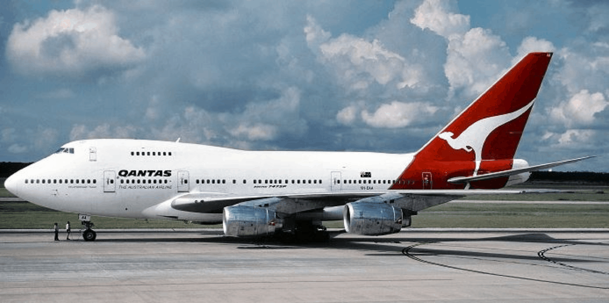Qantas-Boeing-747-History