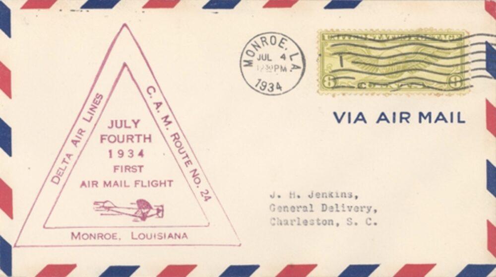 Delta Air Lines Air Mail