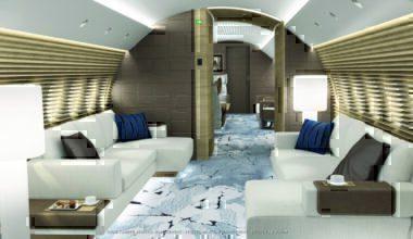 A220 corporate jet