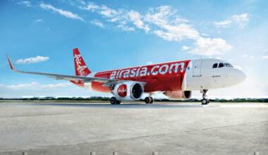 AirAsia A320 Aircraft 41,000 seats