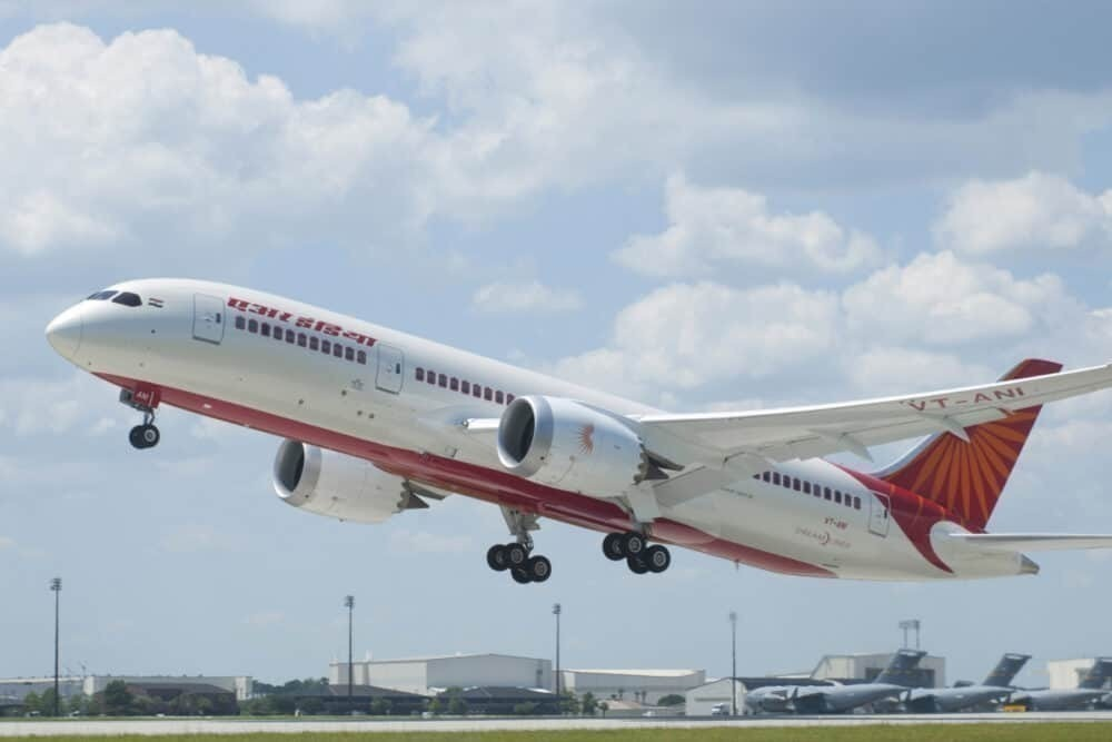 787 Air India Delivery