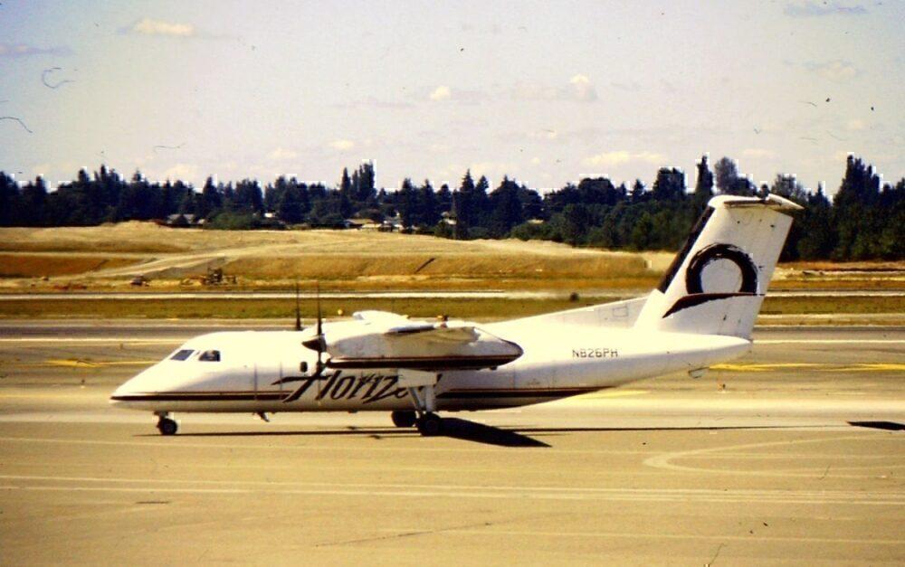 Dash 8-100 horion Air
